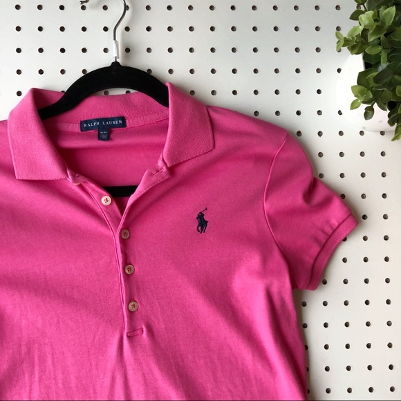 Polo Blue Prix Dress Lauren Ralph Grand Pink Horse trQhdsC